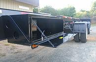 wind blade hauling trailer