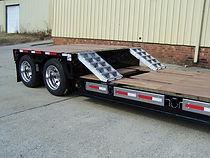 lowboy ag combine hauler