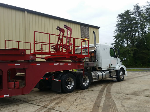 crane accessories, boom trailer catwalk, catwalk
