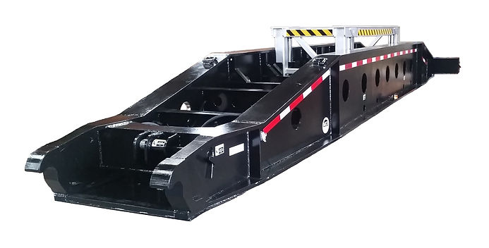 BEAM DECK, TRAILERS, crane lift, crane transportation