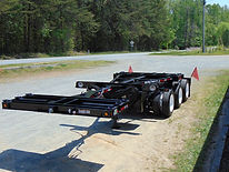 Heavy hauling, bridge girder haulers, extendable, steerable, dolly dollies