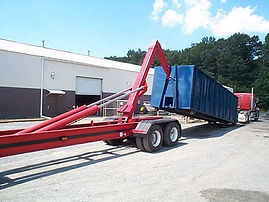 container hauler