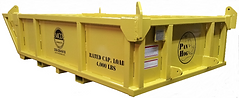 Skip pans, Pan hog, material basket, lift box, outrigging, crane,trash. waste box