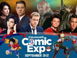 Cincinnati Comic Expo 7.20-22.19