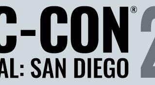 San Diego Comic Con! 7/18-21/19