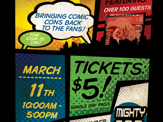 Madison Mighty Con - Sunday, March 11, 2018