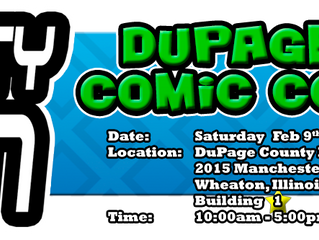 DuPage Mighty Con Feb 9, 2019