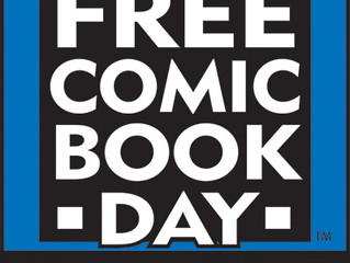 Free Comic Book Day, May 5, 2018