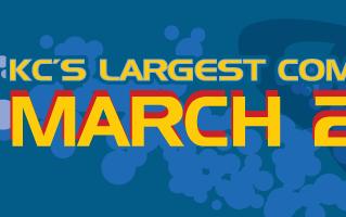 Planet Comicon Kansas City Mar. 29-31, 2019