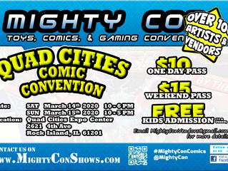Quad Cities Comic Con 3.14-15.20