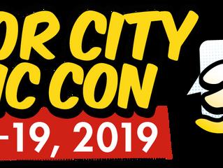 Motor City Comic Con 5/17-19/19