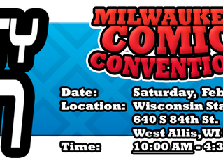 Milwaukee Mighty Con Feb 19, 2019