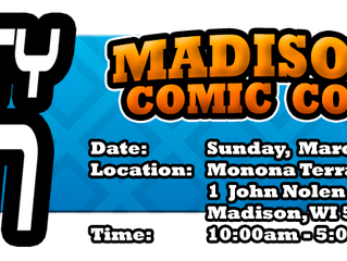 Madison Mighty Con March 3, 2019