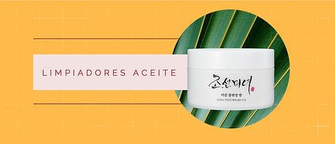 1. Limpiadores Aceite Skincare Coreano B
