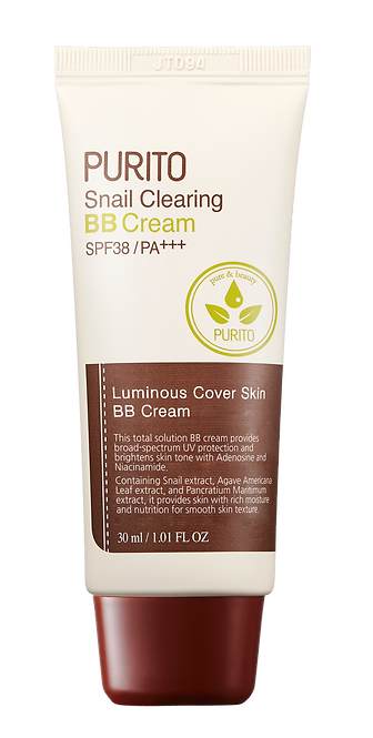 PURITO Snail Clearing BB Cream 30 ml (SPF38 PA+++)