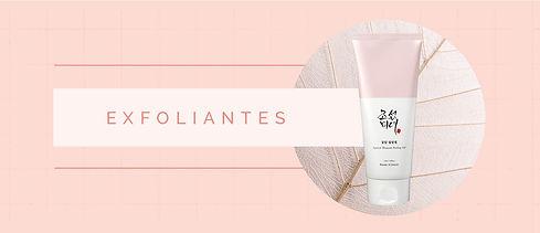 3. Exfoliantes Skincare Coreano Premium