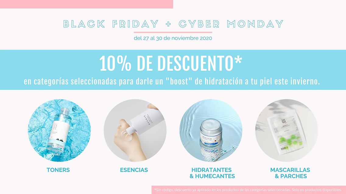 Black Friday Descuentos Skincare Coreano