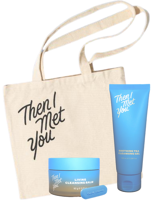 Cleansing Duo  THEN I MET YOU + Tote Bag