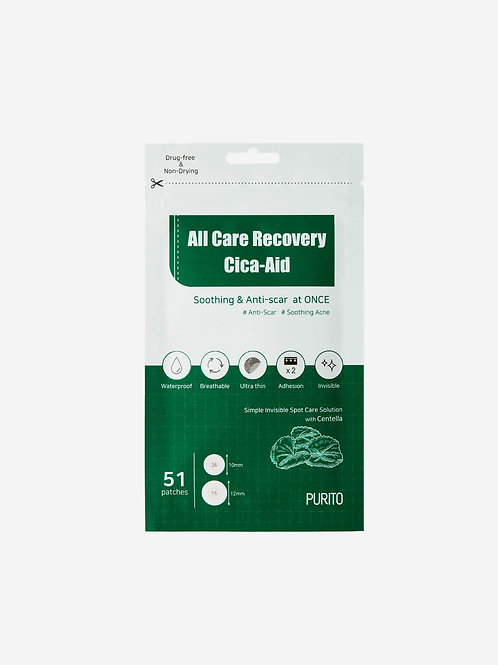 PURITO All Care Recovery Cica-Aid PATCHES (51 parches)
