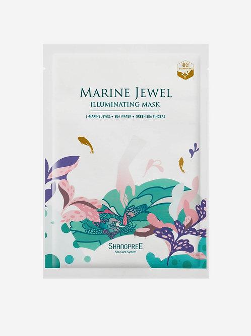SHANGPREE Marine Jewel Illuminating Mask (1 pc)