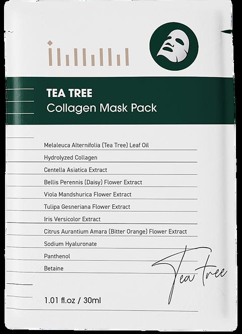 IMMM Tea Tree Collagen Mask Pack