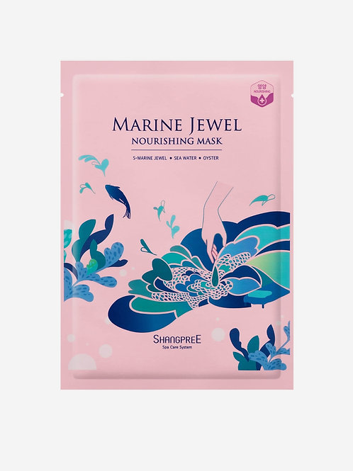 SHANGPREE Marine Jewel Nourishing Mask  (1 pc)