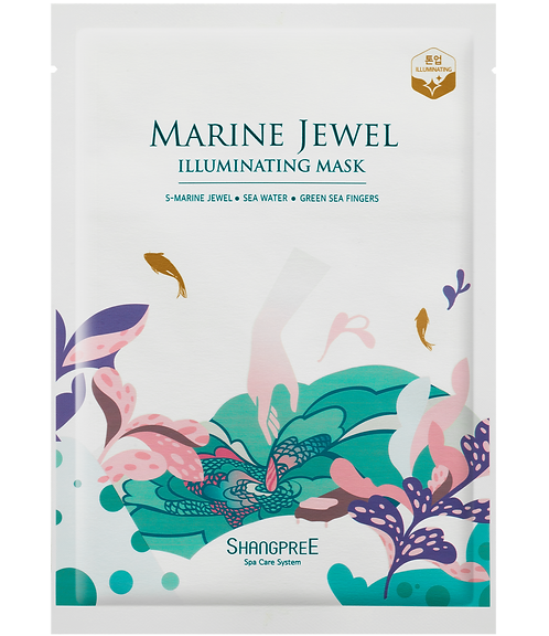 SHANGPREE Marine Jewel Illuminating Mask (1 pc)