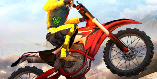 Moto Rider - Game Icon PSD