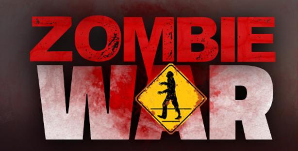 Zombie War - Title PSD