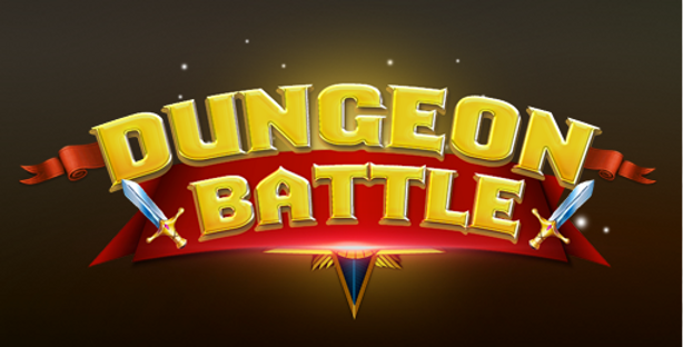 Dungeon Battle - Title PSD