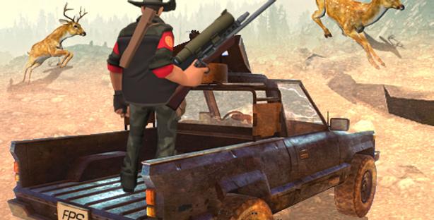 Safari Hunt - Game Icon PSD