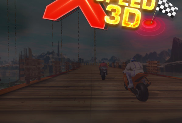 MotoX Speed 3D - Game Ui PSD