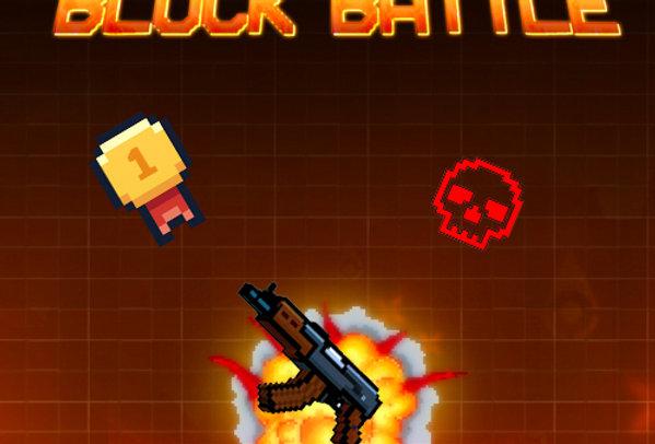 Pixel Block Battle - Game Ui PSD