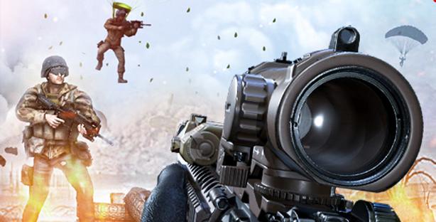 Sniper Shooter - Game Icon PSD