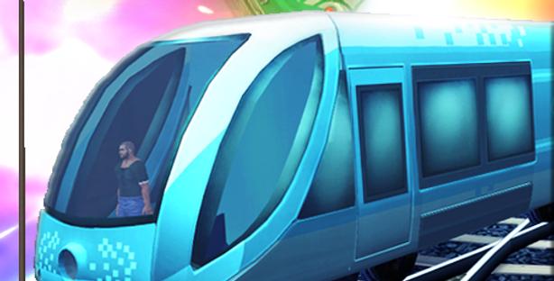 Train Sim - Game Icon PSD