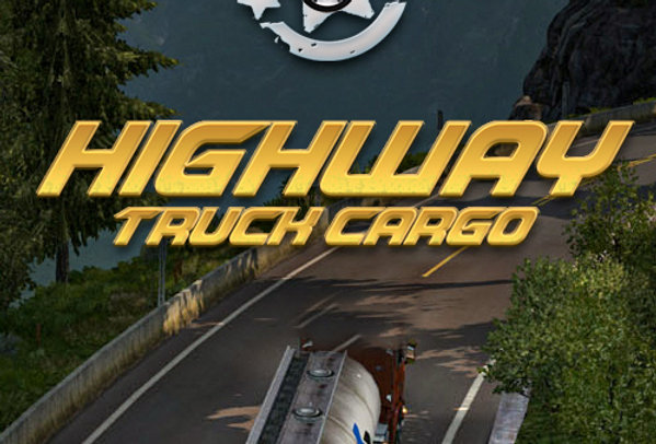 Highway Truck Cargo - Game Ui PSD