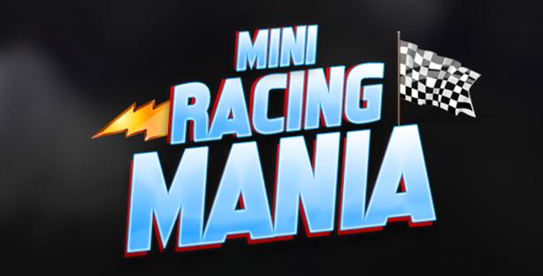 Mini Racing Mania - Title PSD