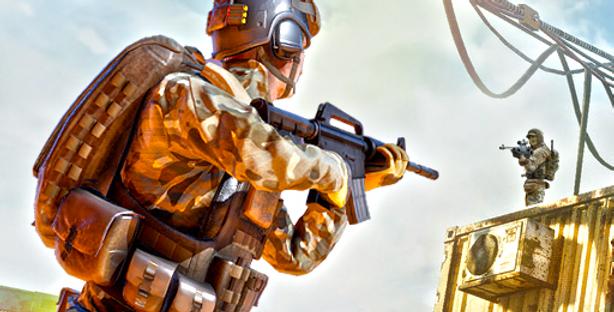 Counter Attack - Game Icon PSD