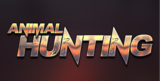 Animal Hunting - Title PSD