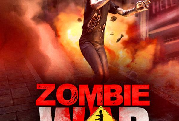 Zombie War- Game Ui PSD