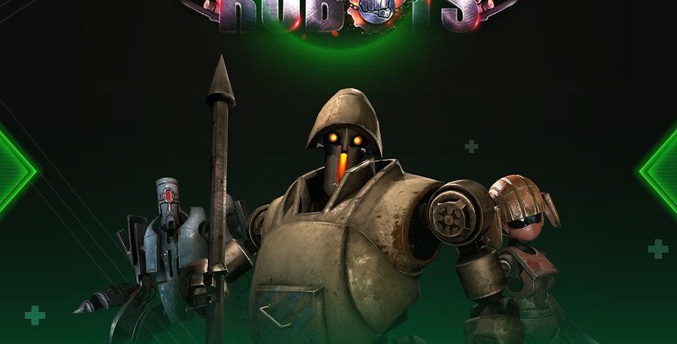 Clash of Robots - Game Ui PSD
