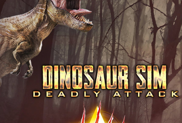 Dinosaur Sim Deadly Attack - Game Ui PSD