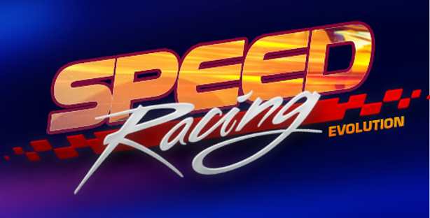 Speed Racing - Title PSD