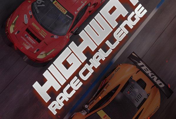 Highway Race Challenge - Game Ui PSD