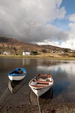 Portree, Isle of Skye, Scotland, UK