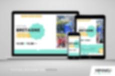 Site internet du Festival Bretagne Sud par HIMAKU, agence web à Vannes