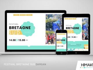 NOUVEAU SITE INTERNET / Festival Bretagne Sud