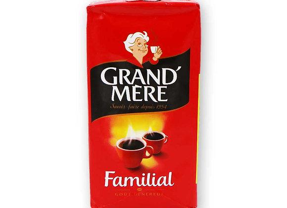Paquet de 250 grammes de cafés moulu