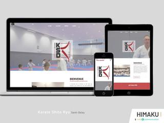 Un site internet pour ce club de karate