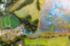 Marais de Séné - photographies en drone dans le Golfe du Morbihan par HIMAKU, agence web à Vannes.